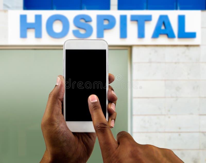 Ik heb het ziekenhuis nodig stock foto