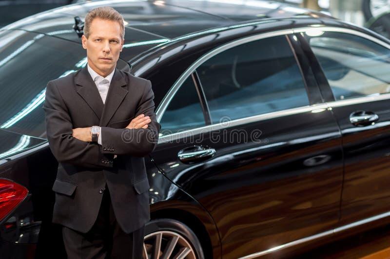 Ik houd luxe van auto's. royalty-vrije stock foto's