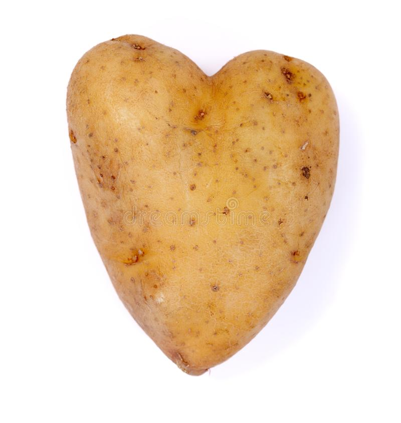 Ik houd van aardappel royalty-vrije stock foto's