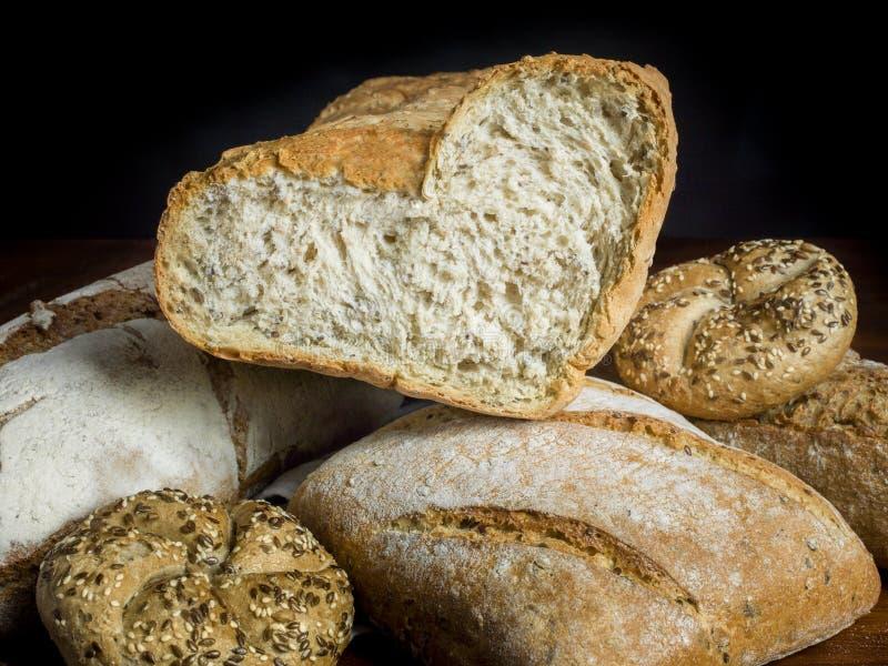 Ik houd van brood stock foto's