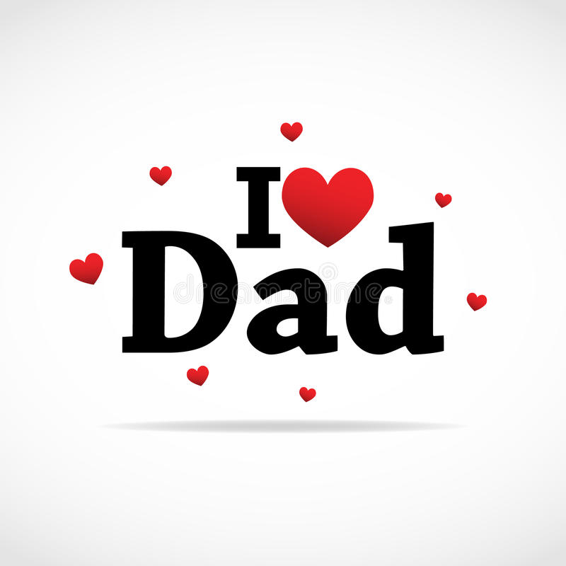 Ik houd van het pictogram van de Papa.