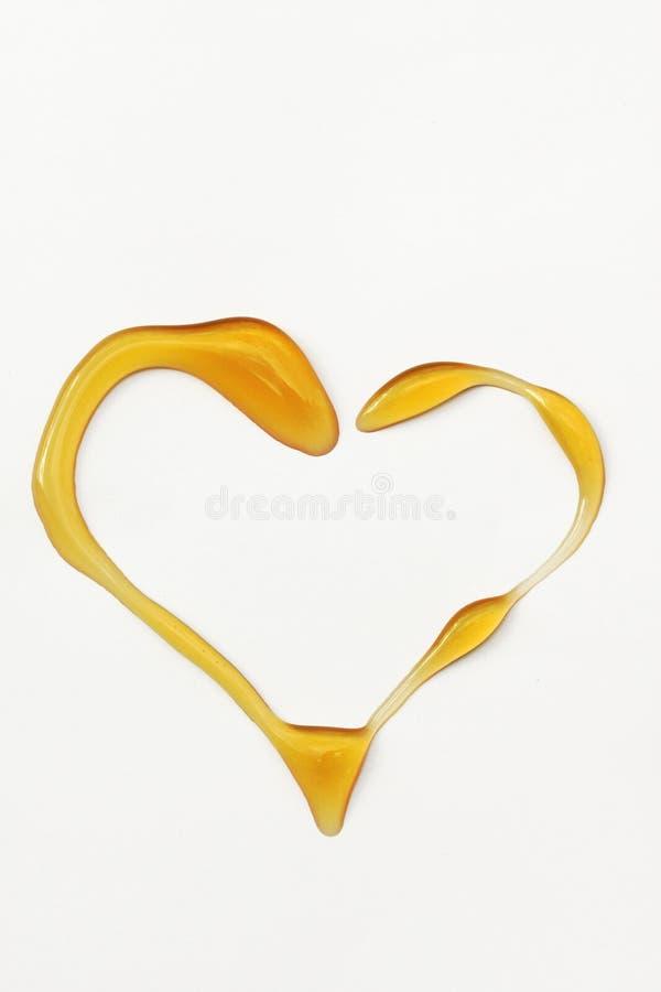 Ik houd van Honing stock foto