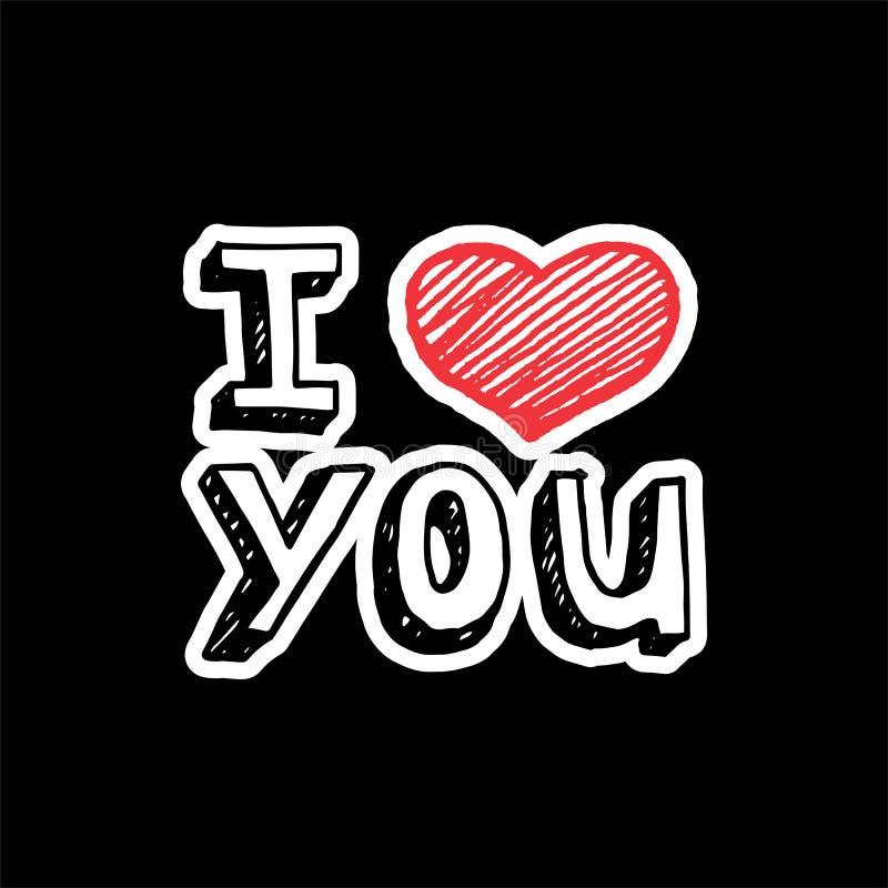 Ik houd? van mooi jong donkerbruin meisje dat groot rood hart houdt, dat op witte achtergrond wordt geïsoleerdo vector illustratie