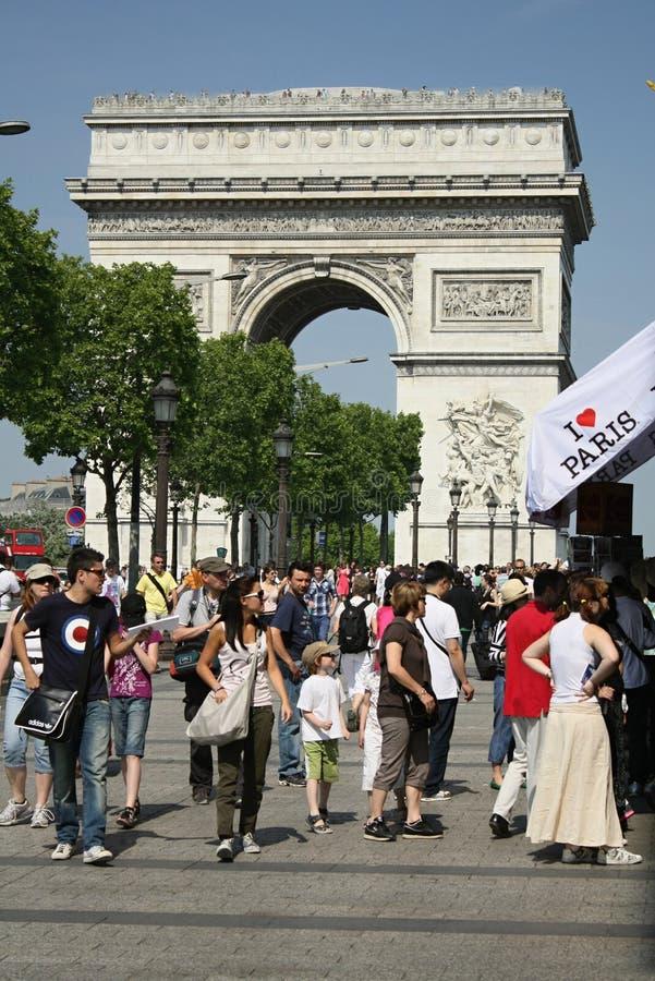 Ik houd van Parijs stock foto