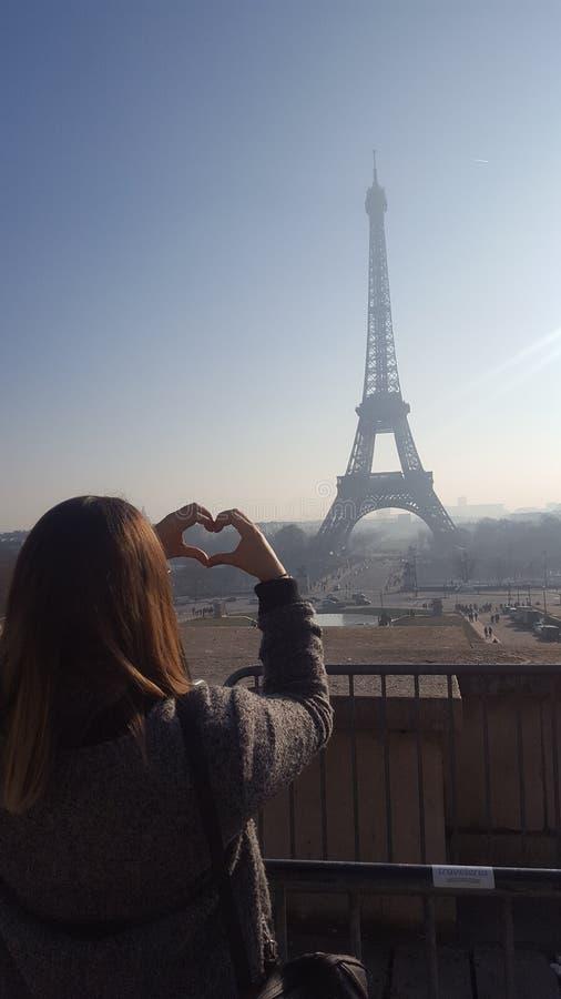 Ik houd van Parijs stock foto's