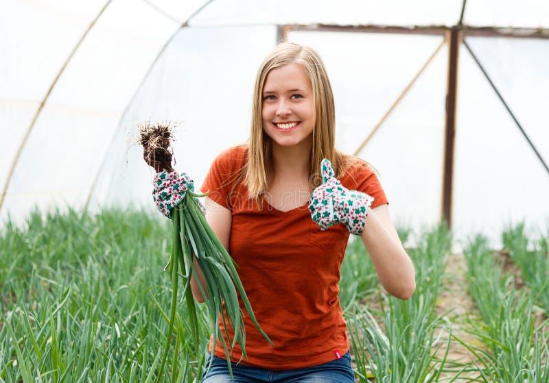 Ik houd van tuinierend! royalty-vrije stock fotografie