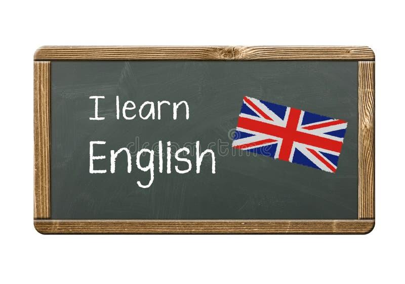 Ik leer het Engels vector illustratie