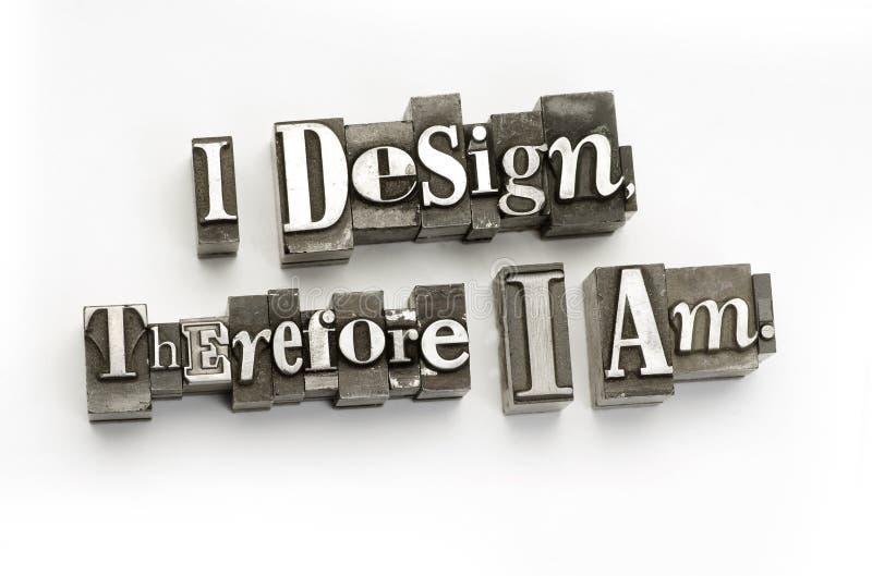 Ik ontwerp daarom ik ben
