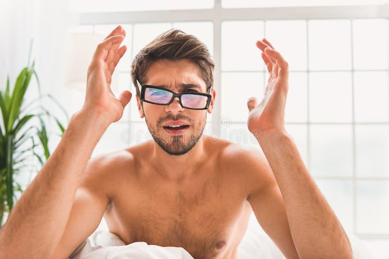 Ik verkies slaap boven ontwaken royalty-vrije stock afbeelding