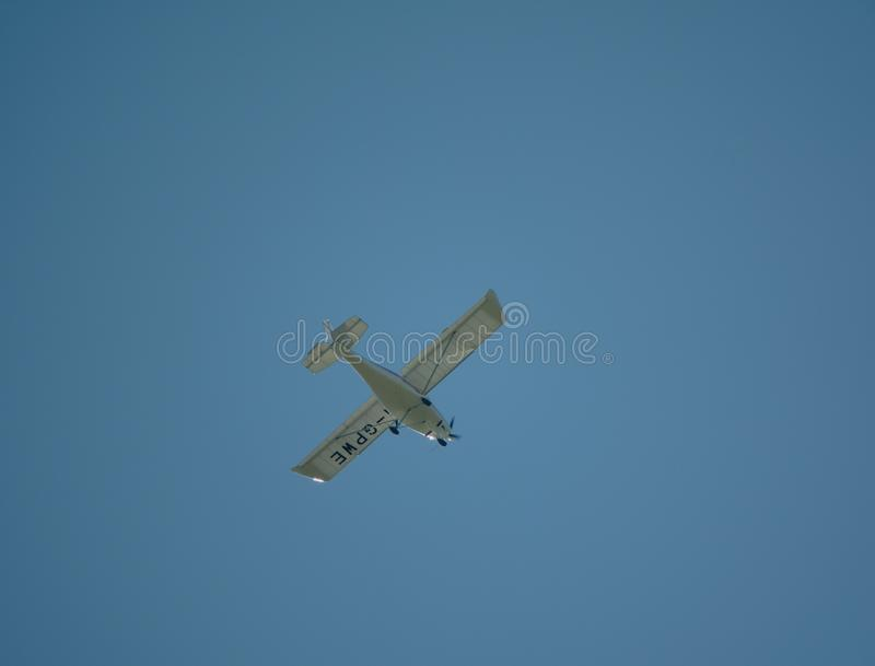 Ikarus c-42 Ultra Lichte Vliegtuigen stock afbeelding