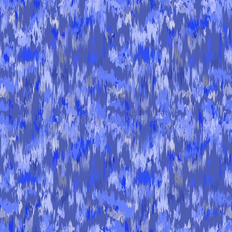 Ikat无缝的样式 花梢纺织品设计 在种族样式的传染媒介例证 向量例证