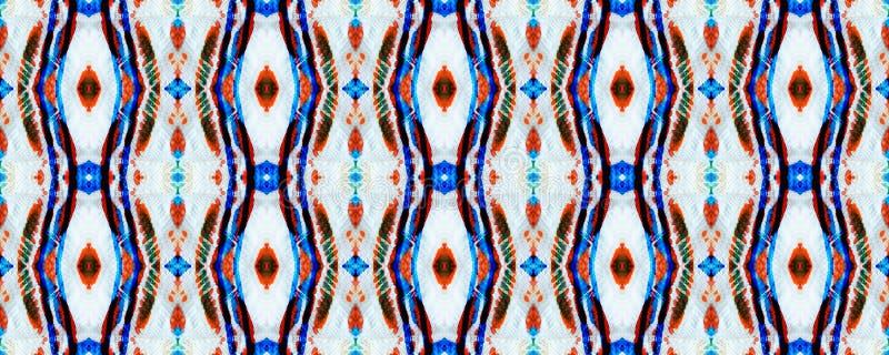 Ikat naadloos patroon vector illustratie