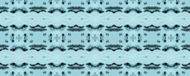 Ikat naadloos patroon stock afbeeldingen