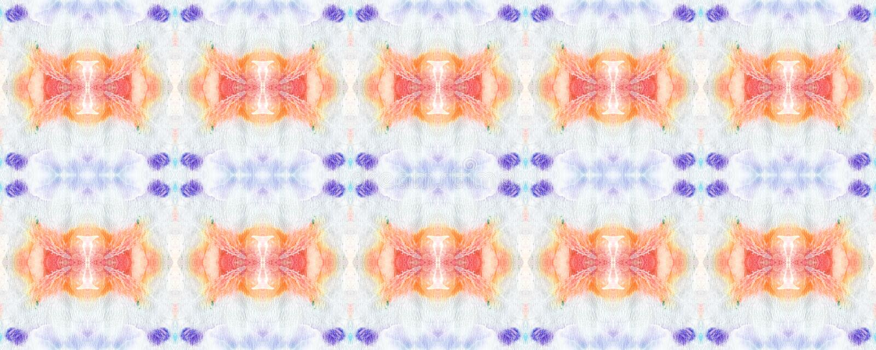 Ikat naadloos patroon royalty-vrije illustratie