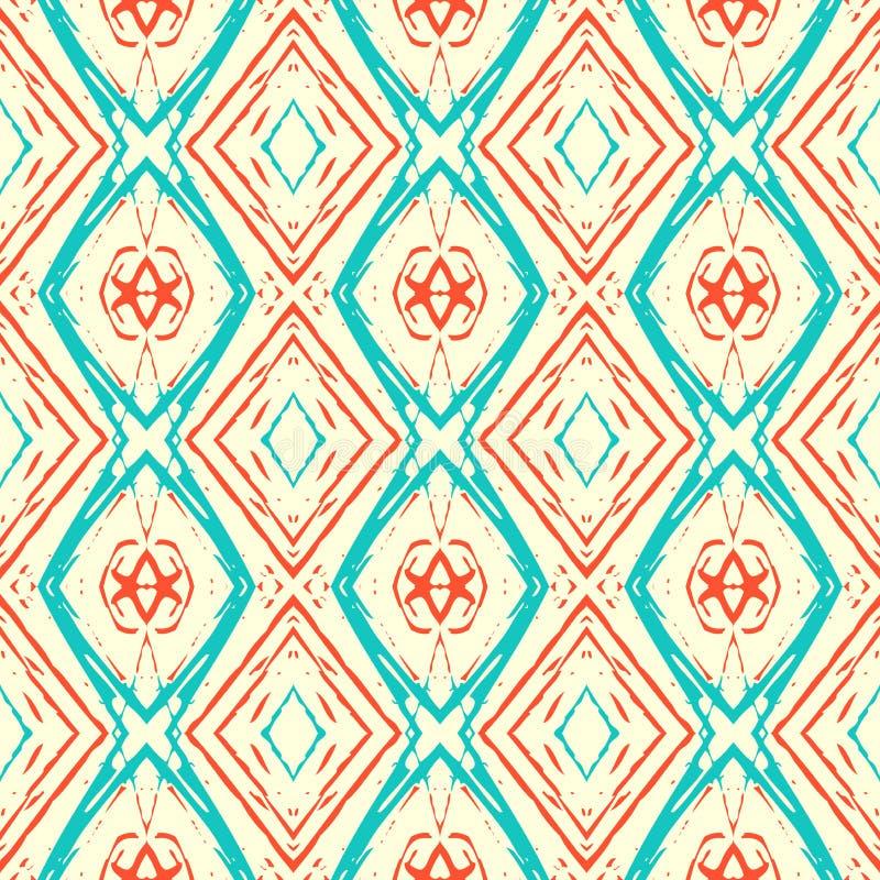 Ikat pattern royalty free illustration