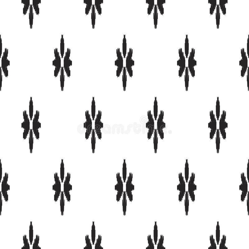 Free Ikat Seamless Pattern. Fashion Wallpaper. Stock Images - 114571854