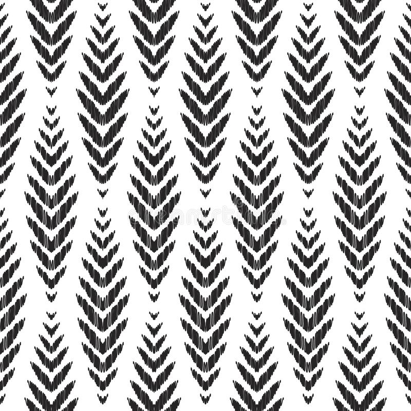 Download Ikat Seamless Pattern Fashion Wallpaper Stock Illustration