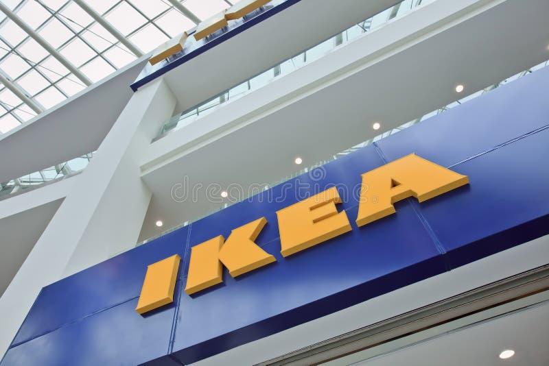 IKEA-afzet, Livat-Winkelcomplex, Peking, China stock afbeeldingen