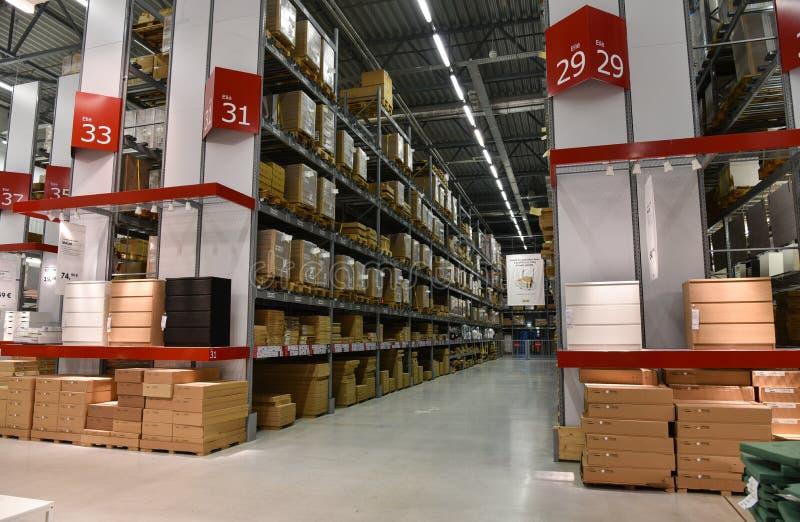 Ikea almacena fotografía de archivo