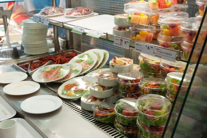 Ikea armazena - o alimento imagem de stock