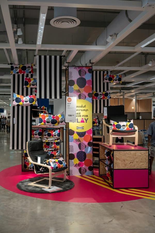 IKEA Bangyai, Таиланд, 10-ое мая 2018 стоковое фото