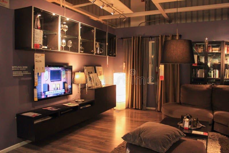 Ikea. Beijing ikea beautiful home decoration royalty free stock photography