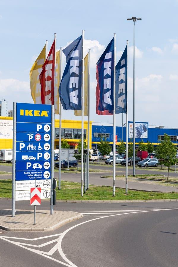 IKEA Berliński sklep zdjęcie stock