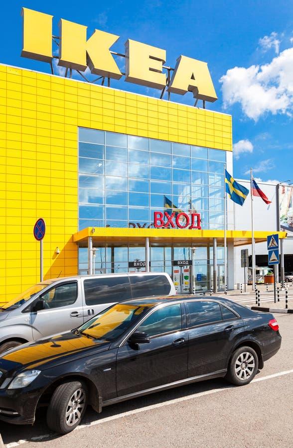 Ikea enregistrent IKEA est détaillant de meubles du ` s du monde le plus grands et s image stock
