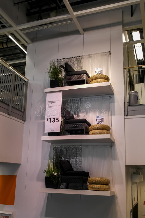 IKEA Etats-Unis Dallas Store photo libre de droits