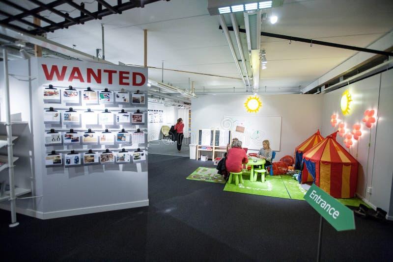 IKEA muzeum, Almhult, Szwecja zdjęcia royalty free