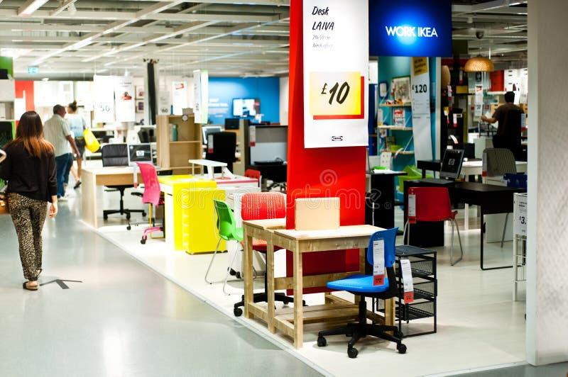 Ikea przechuje fotografia stock