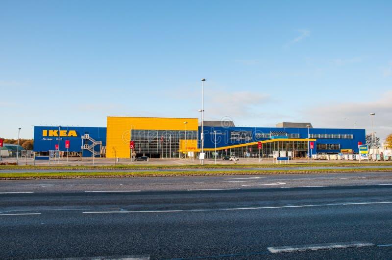 Ikea przechuje w Dani fotografia royalty free
