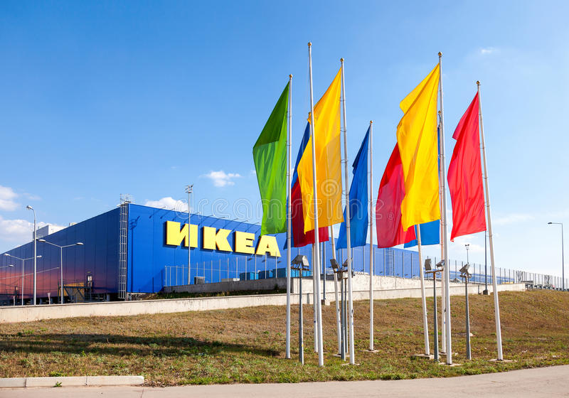 IKEA Samara sklep obraz stock