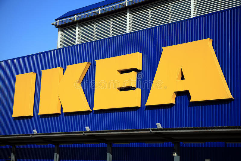 Download Ikea Sign editorial photography. Image of logo, flatpack - 22981582
