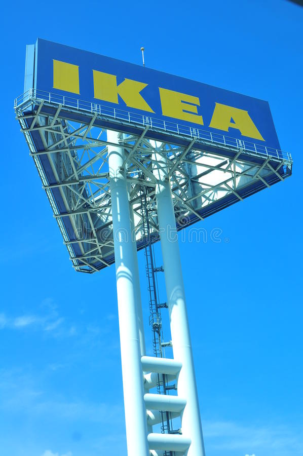 Download Ikea sign board editorial photography. Image of home - 24002572