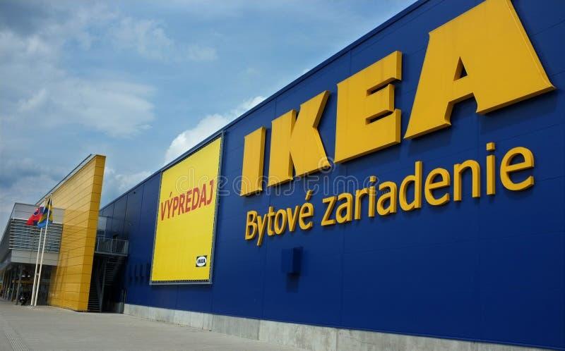 Ikea Slovakia em Bratislava imagem de stock royalty free