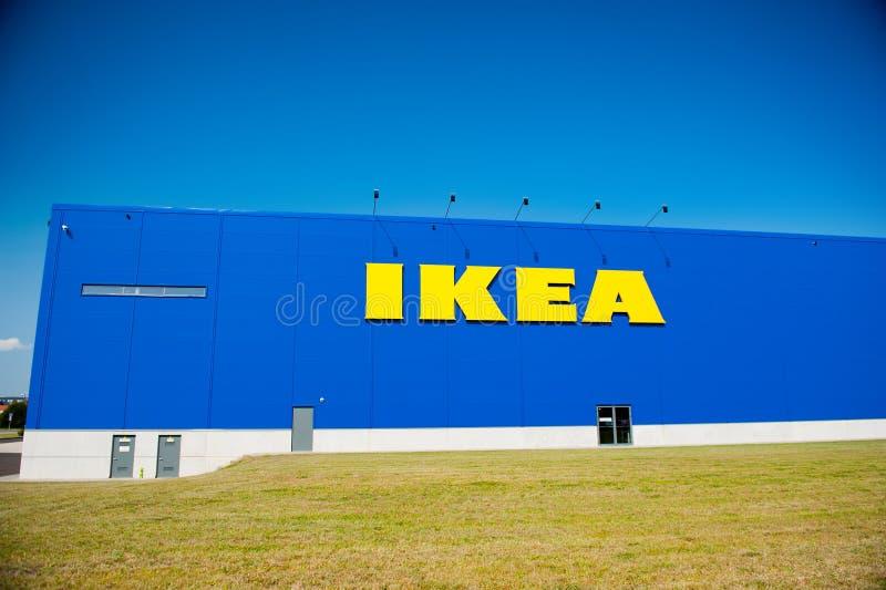 IKEA speichern in Vilnius, Litauen stockfotos