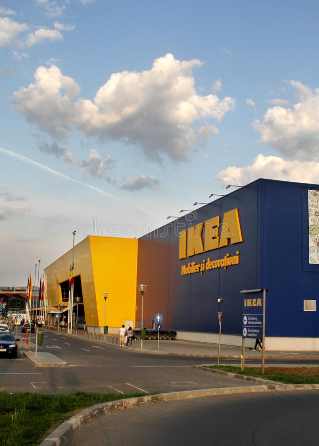 Ikea store stock photography