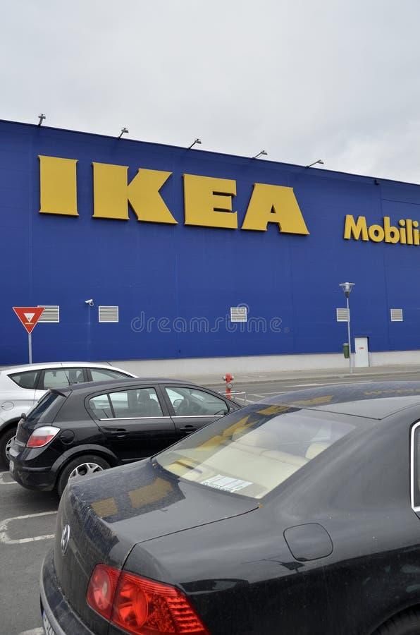 Ikea store in Bucharest stock image