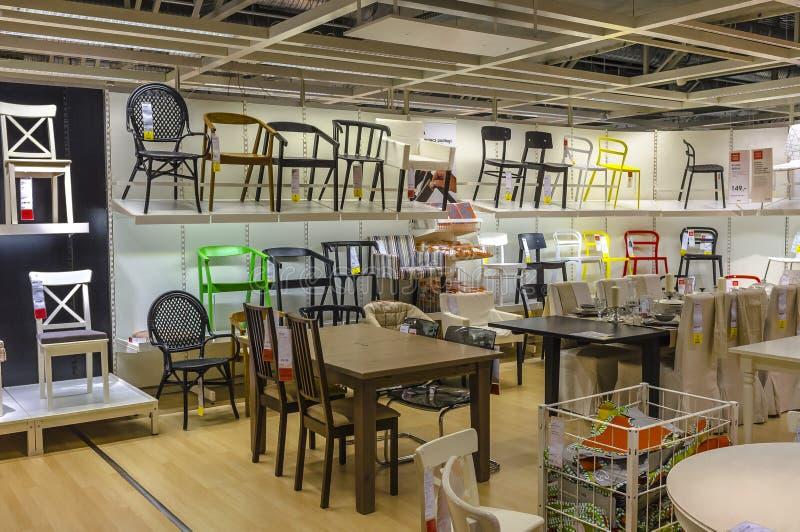 Ikea store. Inside Ikea store in Krakow, Poland stock photos