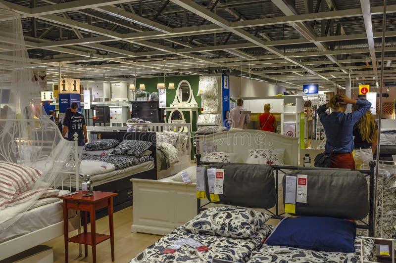 Ikea store. Inside Ikea store in Krakow, Poland stock photo