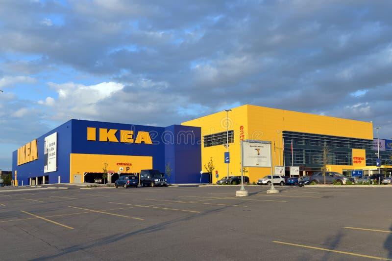 Ikea store in Ottawa, Canada royalty free stock photos