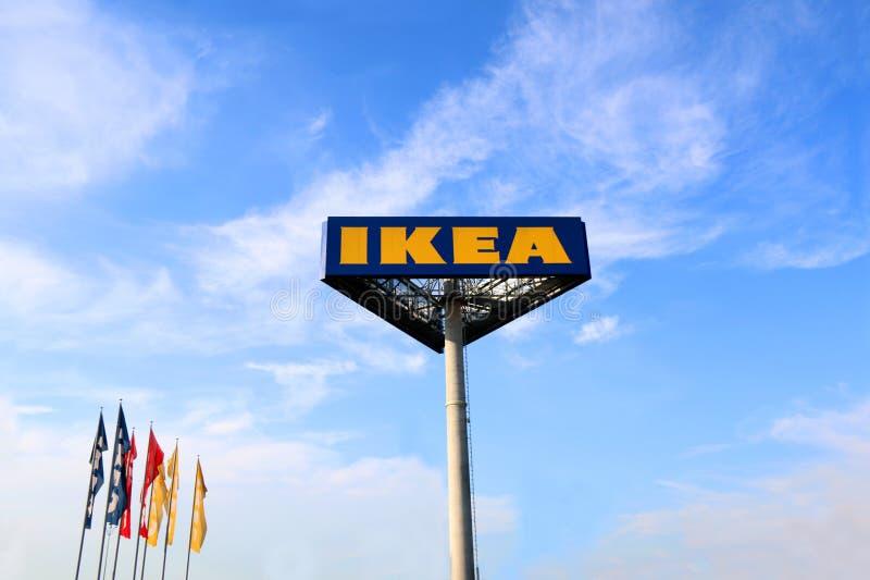 IKEA-teken stock foto's