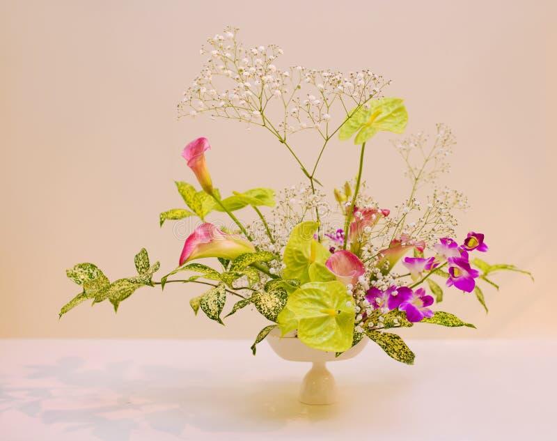 Ikebana расположение цветка стоковая фотография
