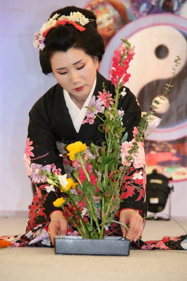 Ikebana foto de archivo
