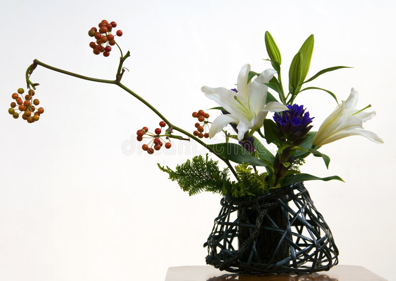 Ikebana III fotografia stock libera da diritti
