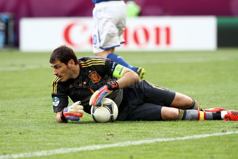 Iker Casillas zdjęcie royalty free