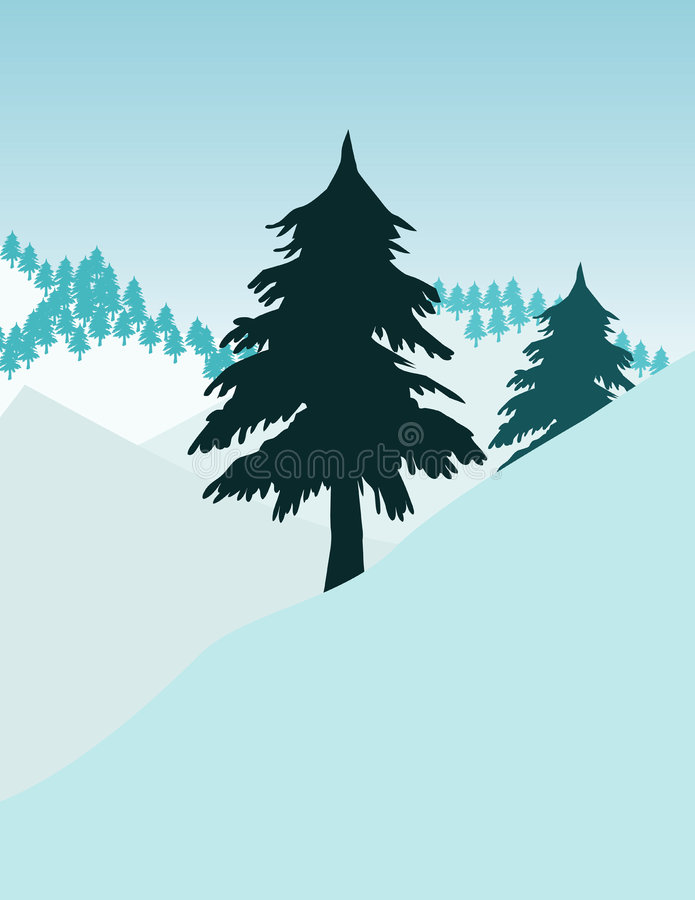 ikon drzewa ilustracji
