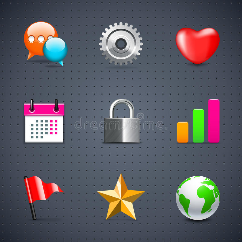 ikon internetów sieć ilustracji