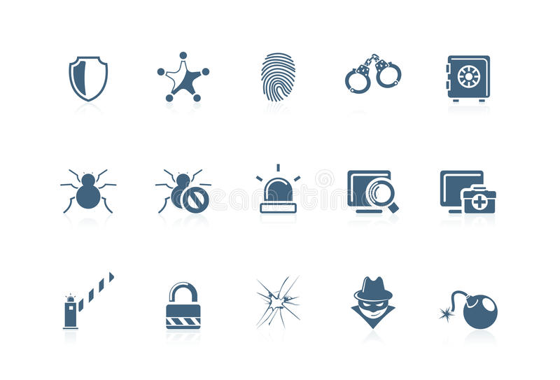 ikon serie ochrony serie ilustracji